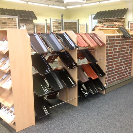 Ausstellungsideen - Baustoffe (Dachziegeln)