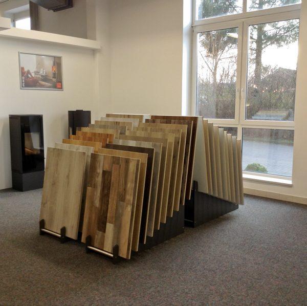 Ausstellungen - Laminat und Pakettböden