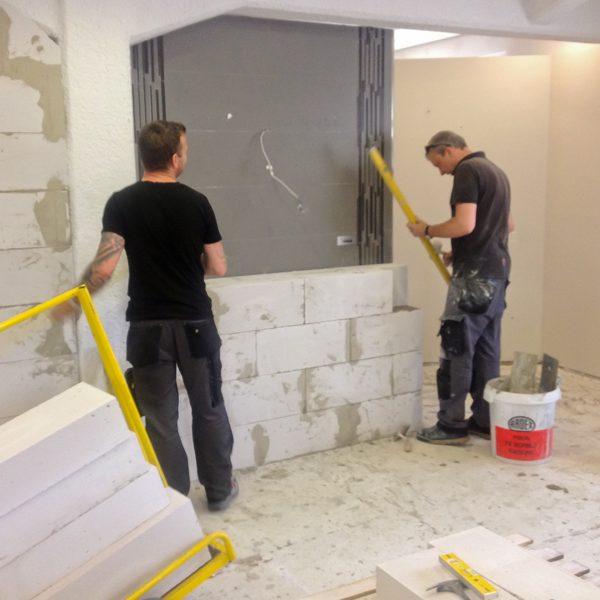 Baufachmarkt - Trockenbauarbeiten