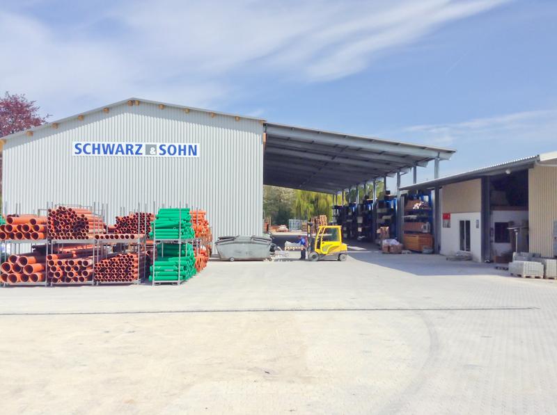 Schwarz & Sohn, Lager und Logistik - Bayern